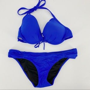 Victoria secret blue bikini